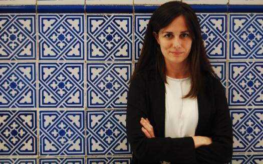 Delia Rodríguez en el II taller de formación porCausa (Fotografía: Ana Sara Lafuente).