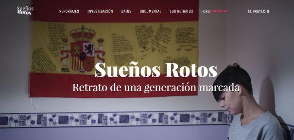 Sueños Rotos. Retrato de una generación marcada - Fundación porCausa.